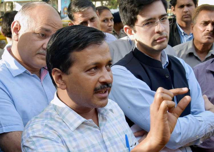 Kejriwal seeks use of ballot papers in MCD polls, suggests- India Tv