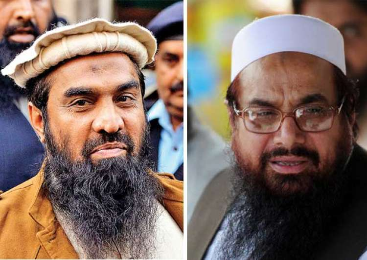 Zaki-ur-Rehman Lakhvi and Hafiz Saeed- India Tv