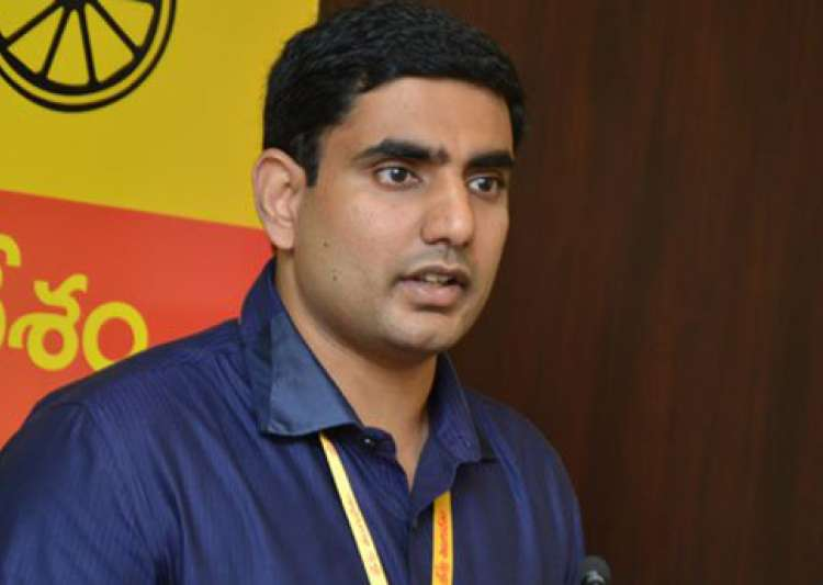 Chandrababu Naidu's son Lokesh inducted in AP cabinet- India Tv