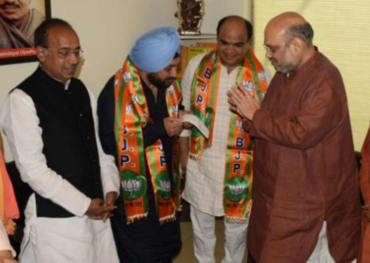 Former Delhi Congress chief Arvinder Singh Lovely joins BJP- India Tv