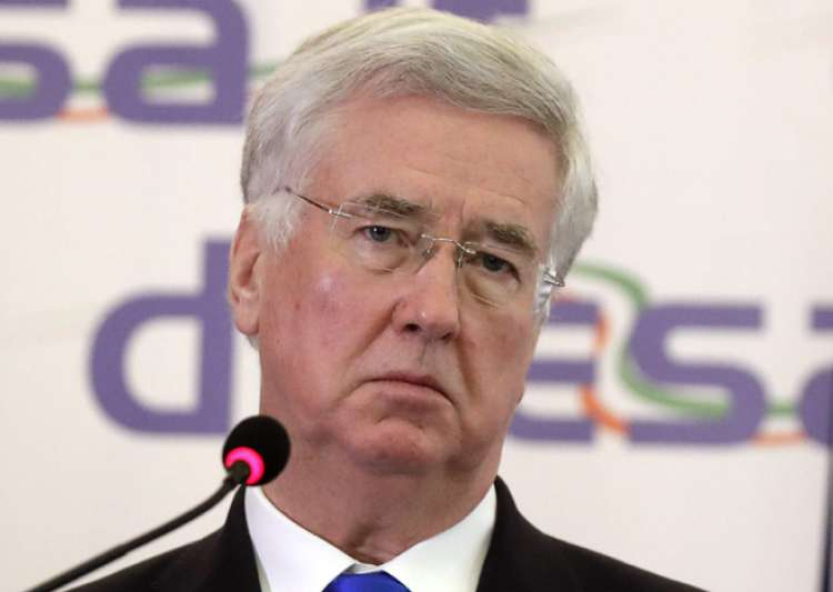 British Defence Secy Michael Fallon will arrive today on a- India Tv