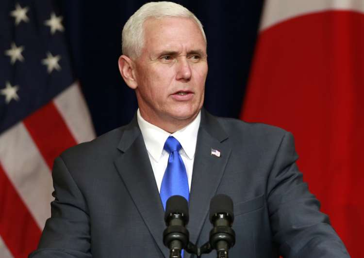 Pence says working with allies to put pressure on North Korea