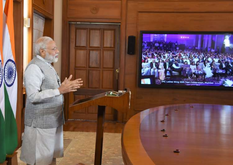 PM Modi addressing the 50th year celebrations of the- India Tv