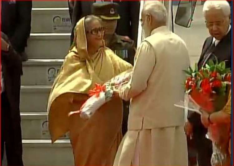 Narendra Modi, Sheikh Hasina- India Tv