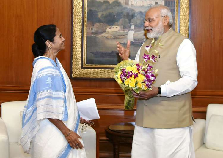 Mamata Banerjee PM Modi to seek release of fund due to West- India Tv