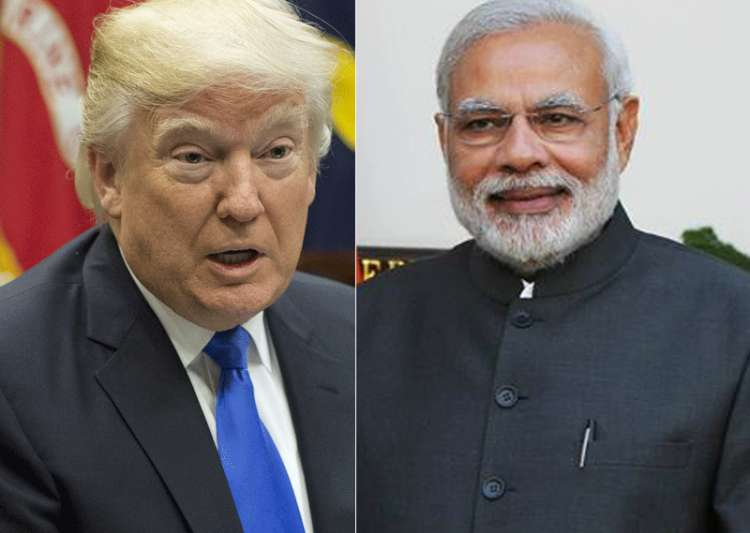 File pic - US President Donald Trump and PM Narendra Modi- India Tv