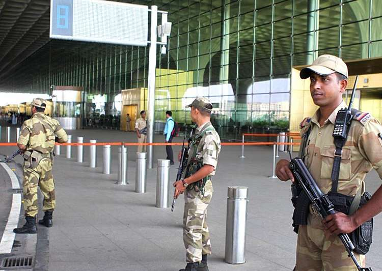 Three airports in country put on high alert