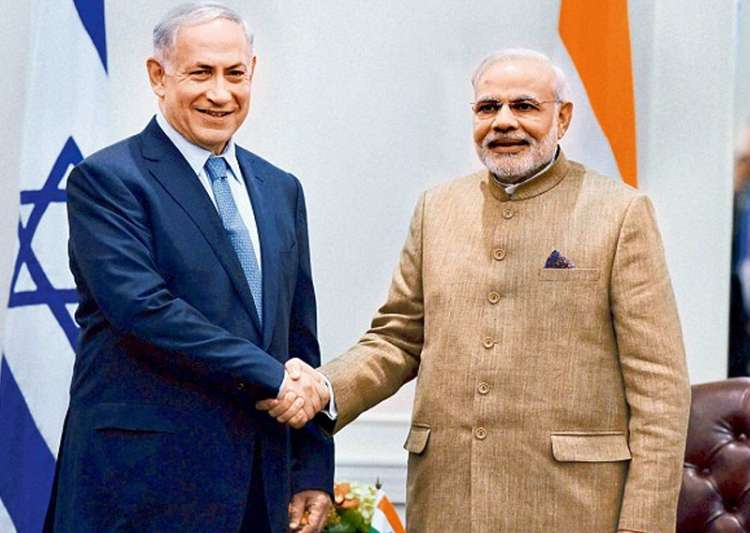 File pic - Israel Prime Minister Benjamin Netanyahu and- India Tv