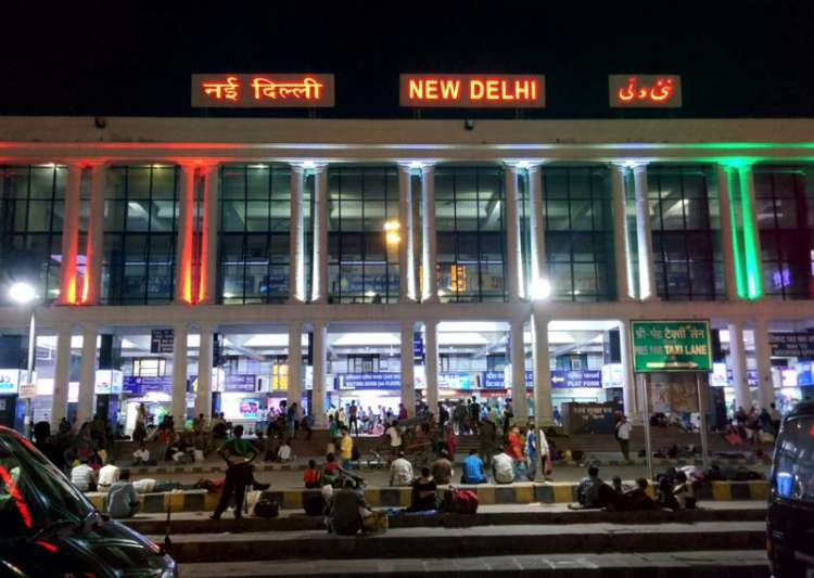 File pic - An outside view of New Delhi Railway Station - India Tv