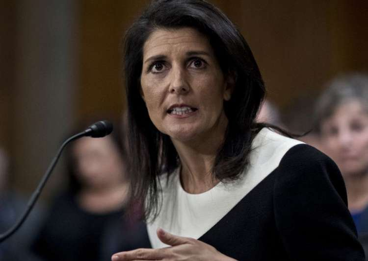 File pic of Nikki Haley- India Tv