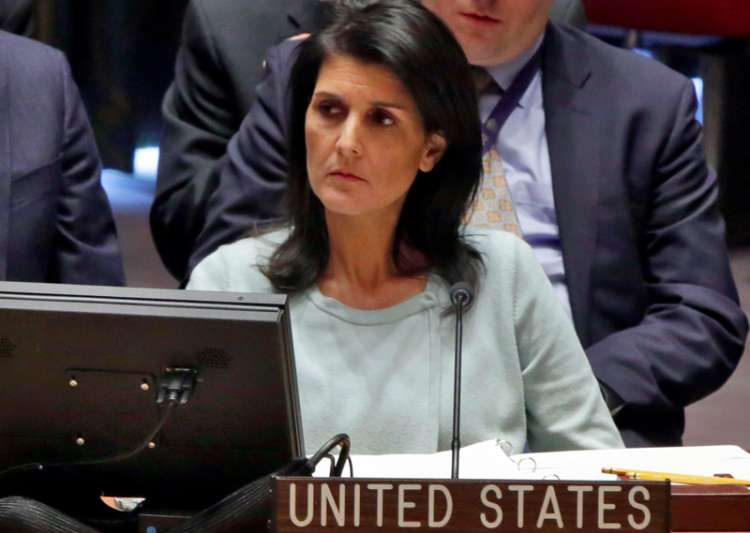 File pic of American Ambassador to UN Nikki Haley- India Tv