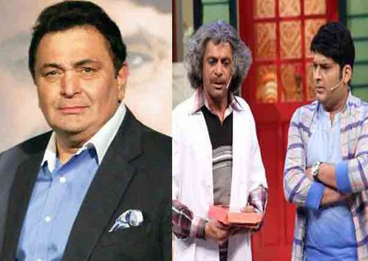Rishi Kapoor and Sunil Grover- India Tv