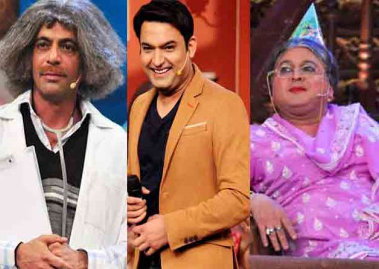 Kapil Sharma Sunil Grover Ali Asgar- India Tv