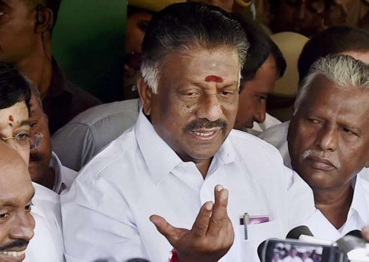 File pic of O Panneerselvam- India Tv