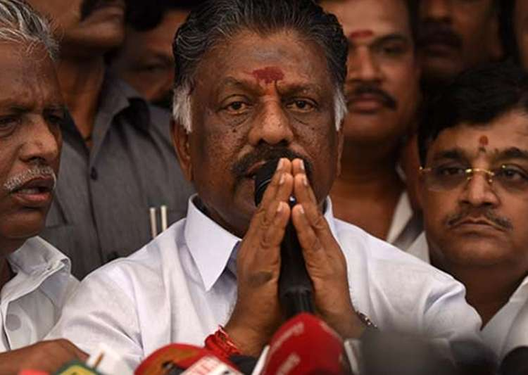 File pic of O Panneerselvam