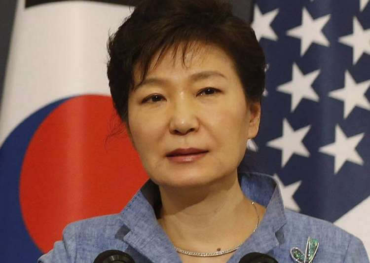 File pic of former South Korean President Park Geun-hye