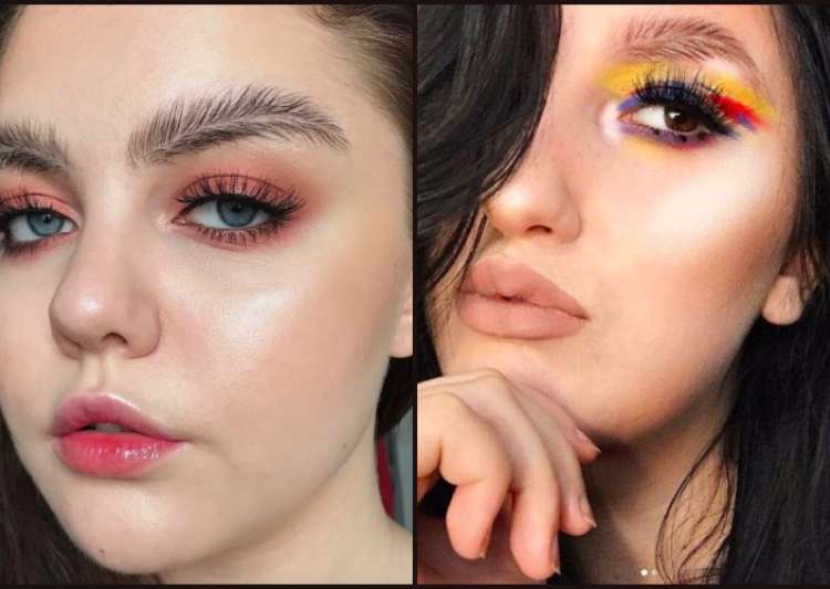 Women are going crazy over this new eyebrow trend - India Tv