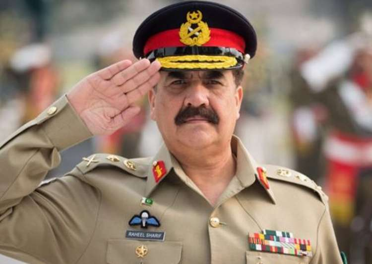 File pic of Gen. Raheel Sharif