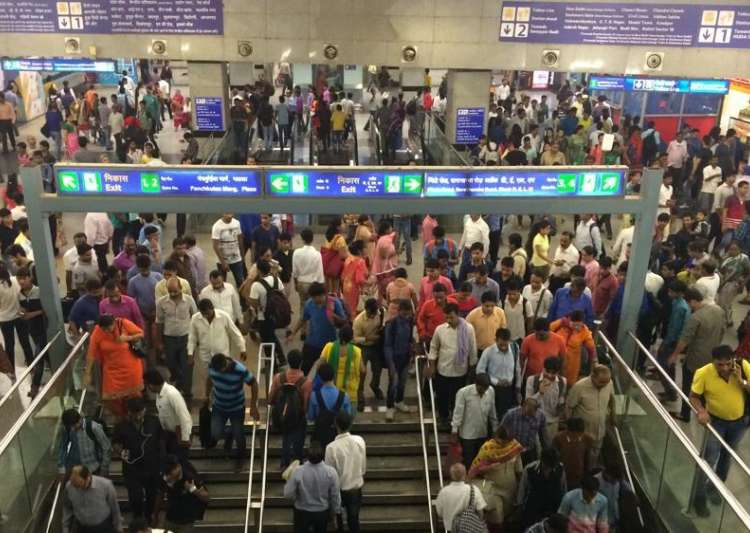 Delhi: Pornographic clip flashed on LED screen at Rajiv Chowk metro station?