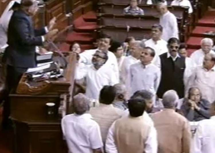 Rajya Sabha witnesses noisy scenes over EVM issue- India Tv