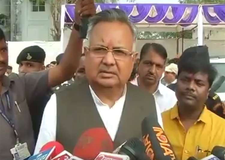 Will hang those who slaughter cows, Raman Singh said- India Tv