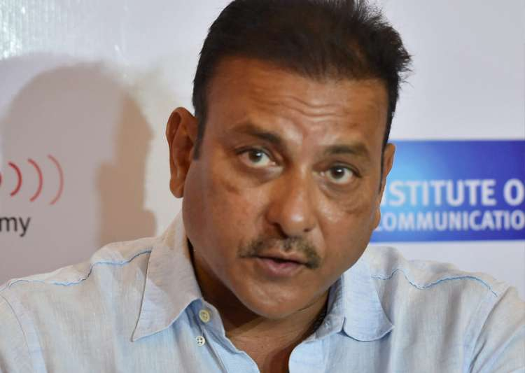 File pic - Ravi Shashtri speaks during a press conference- India Tv