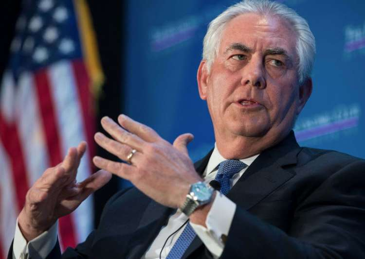 File pic of Secretary of State Rex Tillerson- India Tv