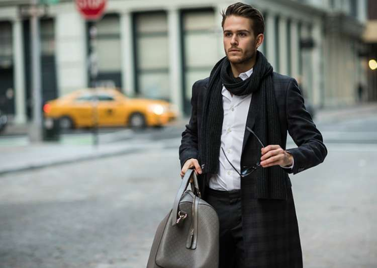 different ways men can drape scarves for fashion- India Tv
