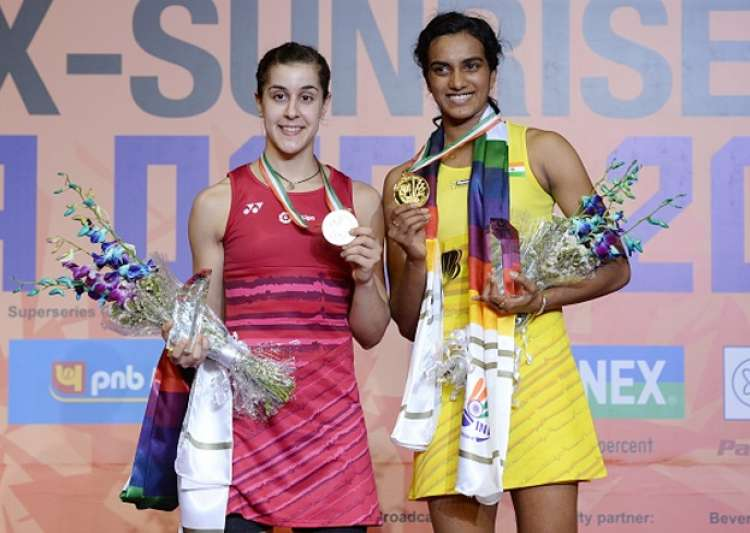 PV Sindhu, Carolina Marin, Badminton, India Open, - India Tv