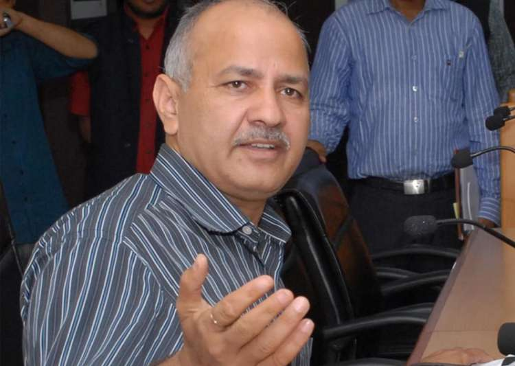 File pic of Delhi Deputy CM Mnaish Sisodia - India Tv