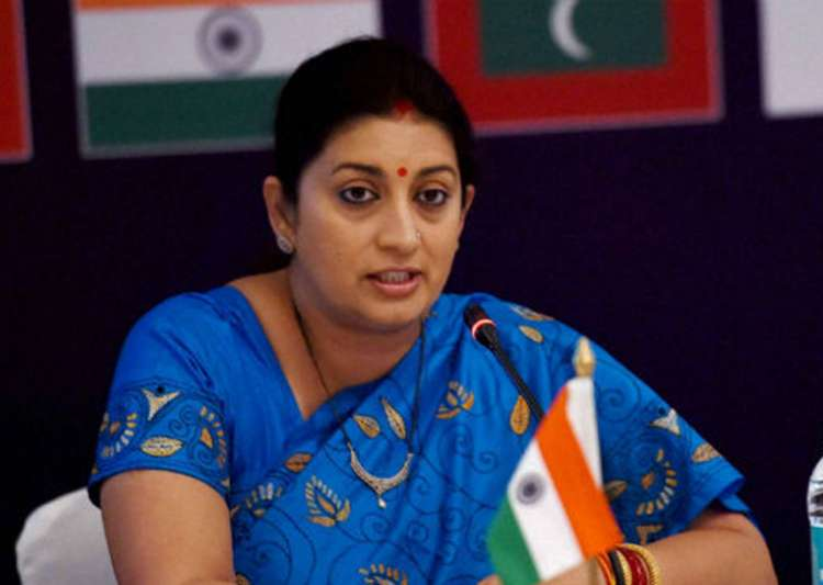 Four detained after Smriti Irani alleges they chased her - India Tv