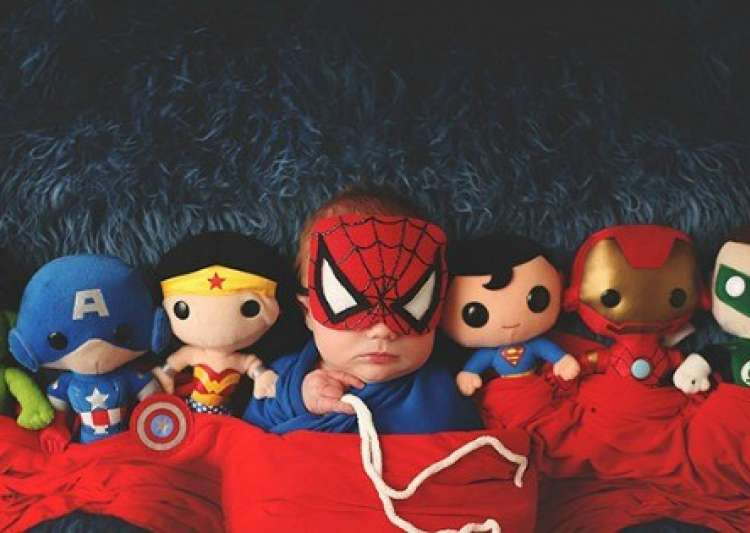 Do you know why babies love superheroes? This is the- India Tv