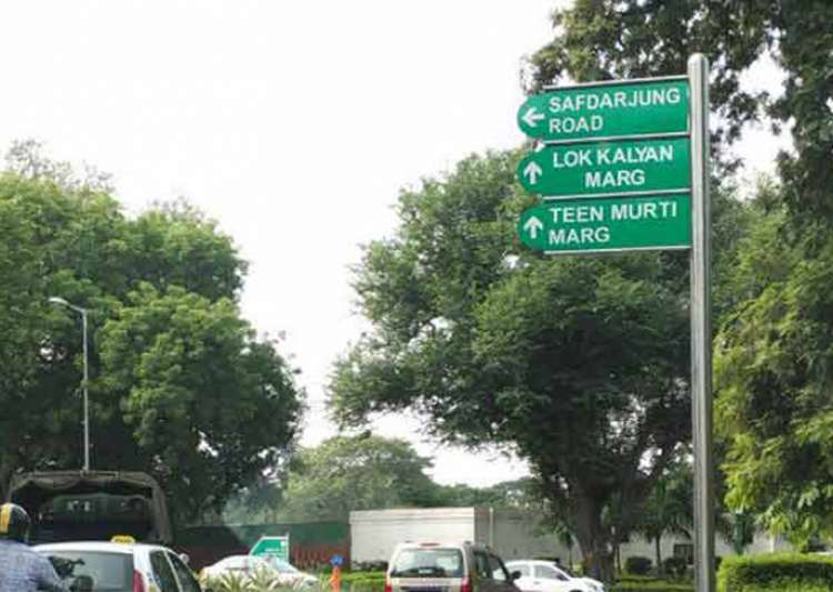 Teen Murti Marg, Chowk renamed after Israeli city ahead of PM