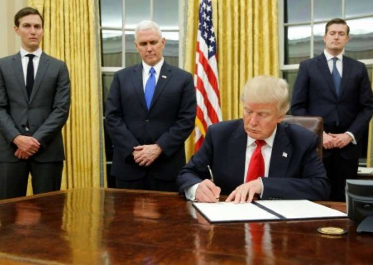 Trump to sign executive order to further tighten H-1B visa- India Tv