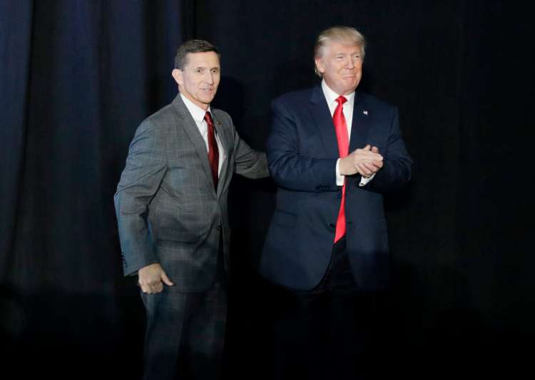 Donald Trump and Michael Flynn- India Tv