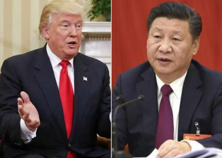 File pic - Donald Trump and Xi Jinping- India Tv