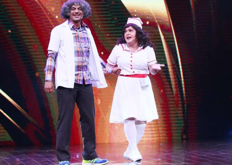 Sunil Grover and Ali Asgar- India Tv