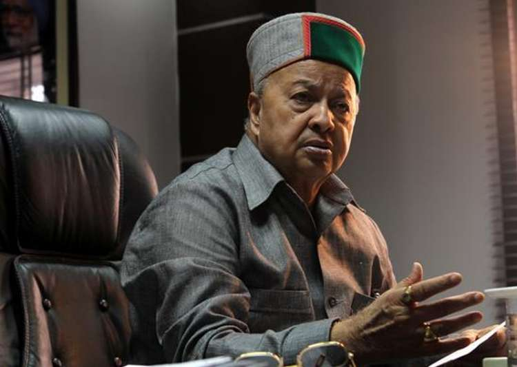 File pic of Himachal Pradesh Chief Minister Virbhadra Singh- India Tv