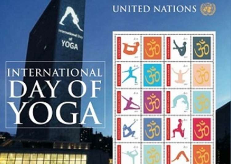 UN to issue 10 stamps of 'asanas' on International Yoga Day- India Tv