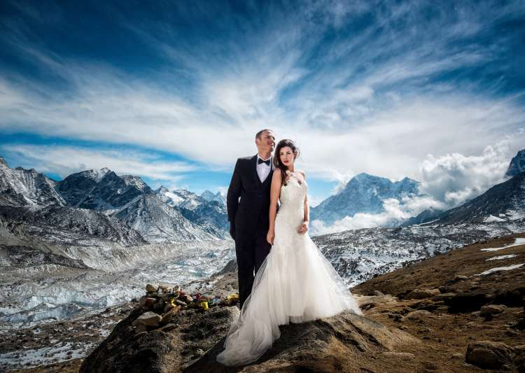couple got married at mt everest- India Tv