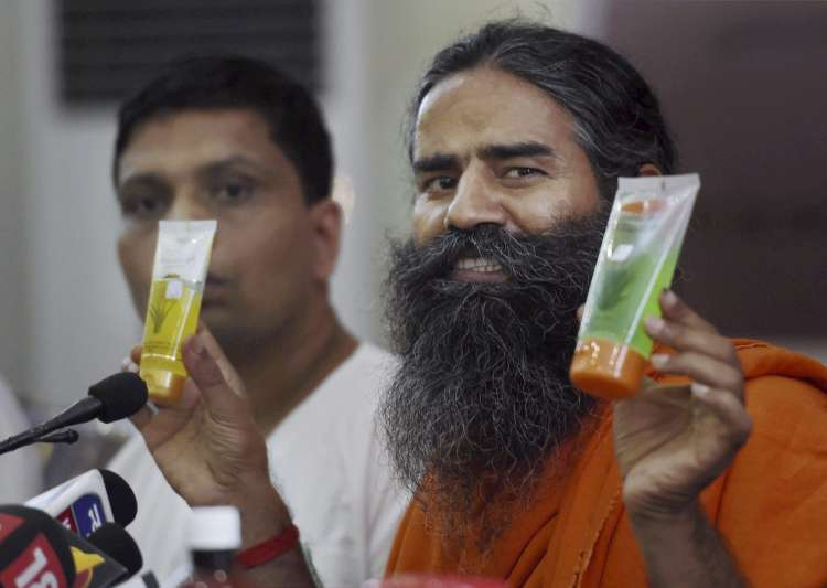Baba ramdev's Patanjali has grown into a Rs 10,000 cr