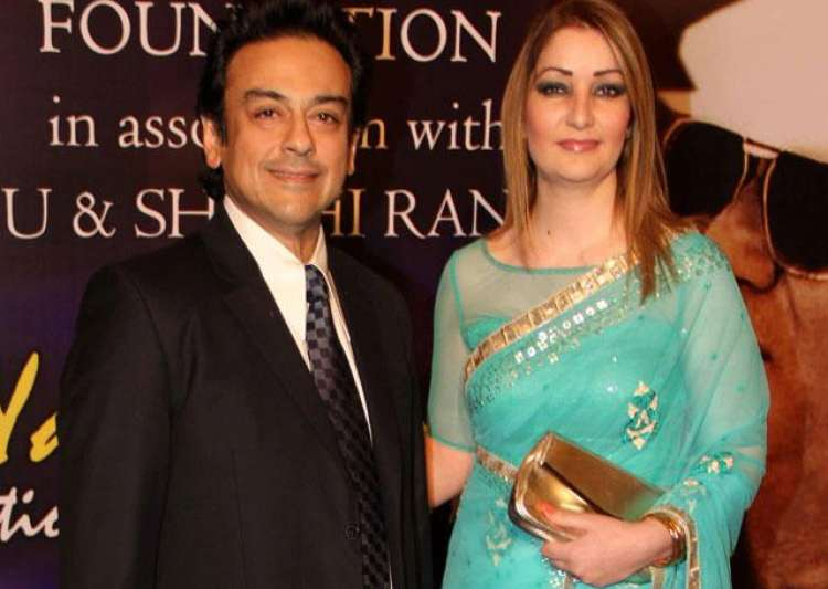 Adnan Sami and wife Roya become proud parents to a baby- India Tv