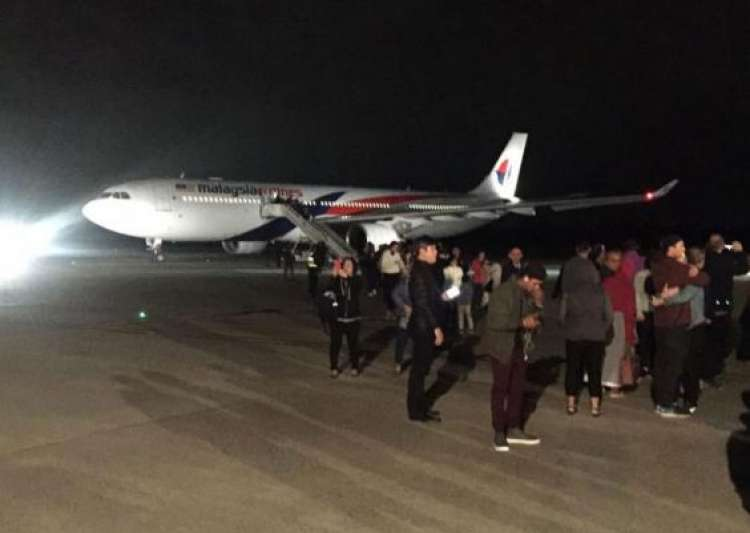 Malaysia Airlines flight turned back after 'drunk'- India Tv
