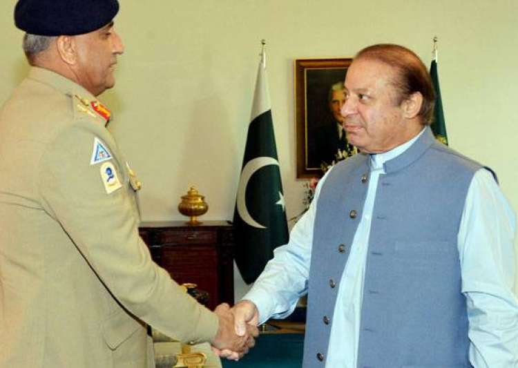General Bajwa, PM Nawaz Sharif