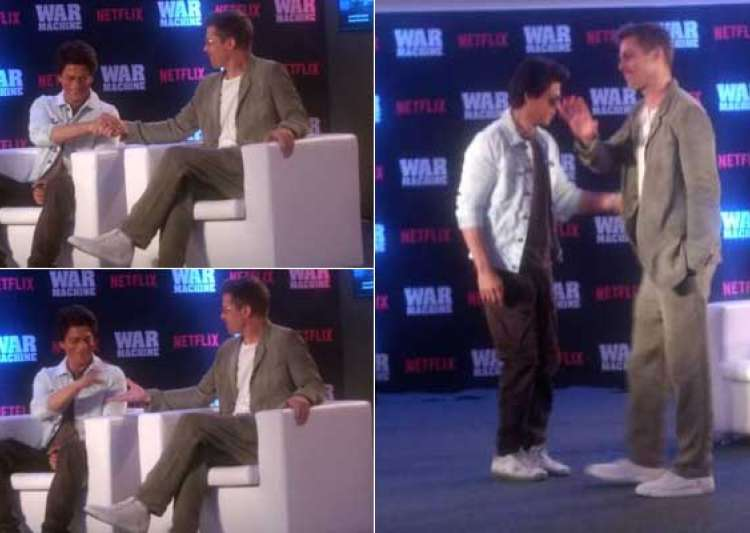 From dancing to promoting War Machine: Brad Pitt and Shah- India Tv