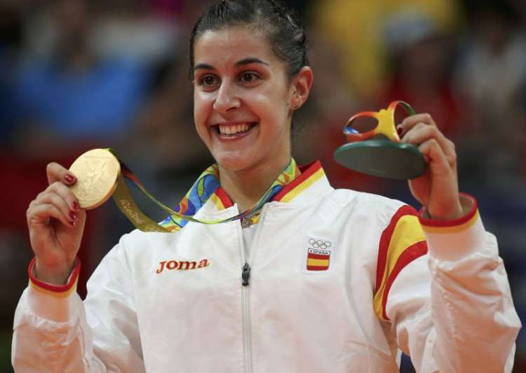 File pic of Carolina Marin- India Tv