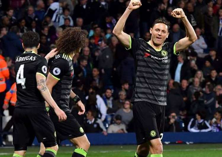 Chelsea seal fifth Premier League crown with West Brom victory