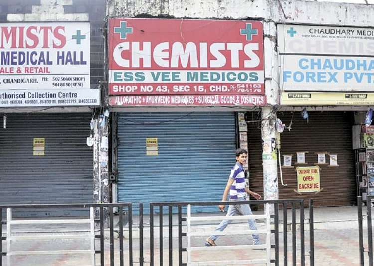 Chemists shut shop in Mysuru