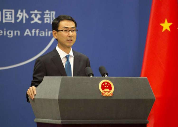 Chinese Foreign Ministry Spokesperson Geng Shuang - India Tv