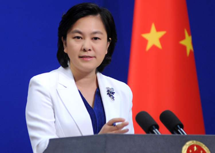 File pic of Foreign Ministry spokesperson Hua Chunying- India Tv